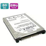 "Hitachi Travelstar 4K120 HTS421280H9AT00 80GB 2.5"" IDE PATA Internal 4200RPM HDD"
