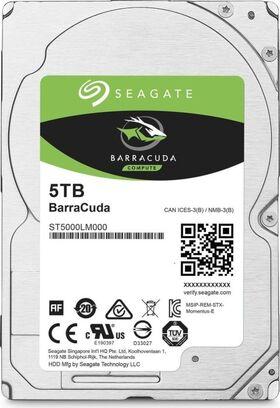 "Seagater Barracuda 5TB 2.5"" 128MB Cache 6Gb/s SATA Hard Drive ST5000LM000"