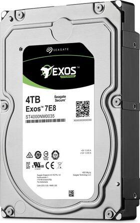 "Seagate Exos E 7E8 4TB 3.5"" 512n 12Gb/s 128Mb Cache SAS Festplatte ST4000NM0025"